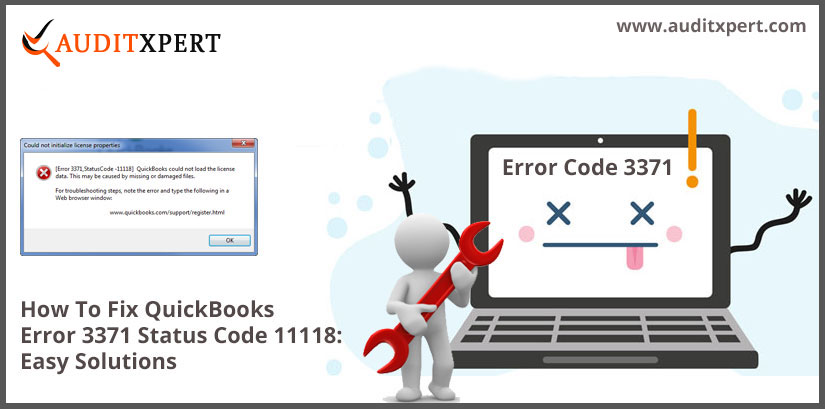 How To Fix QuickBooks Error 3371 Status Code 11118: Easy Solutions