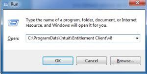 QuickBooks error 3371 status code 1118: Path to ecml File