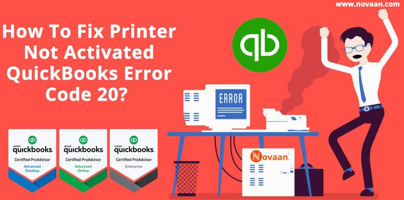QuickBooks Error code 20