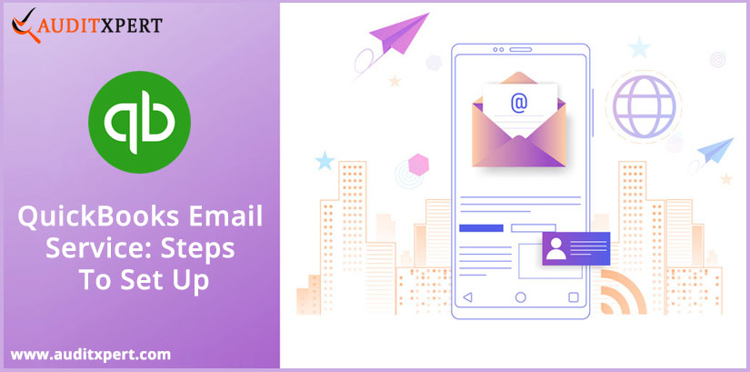 QuickBooks email service