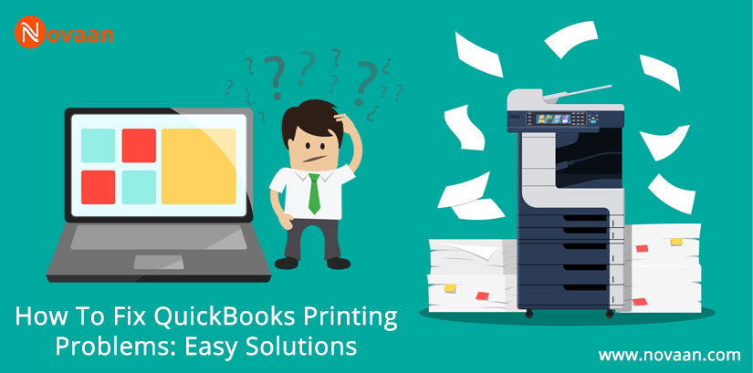 QuickBooks printing problems