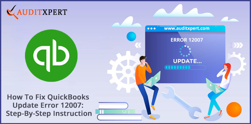 QuickBooks update error 12007
