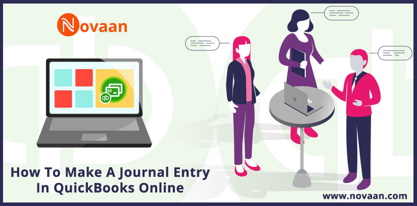 journal entry in QuickBooks online