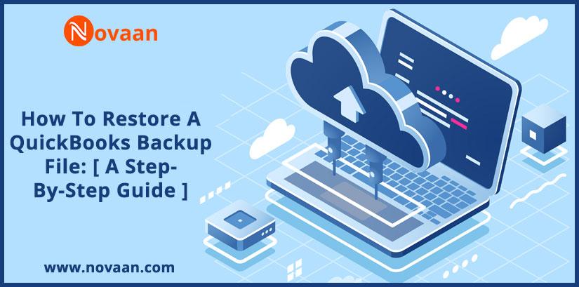 restore a QuickBooks backup file