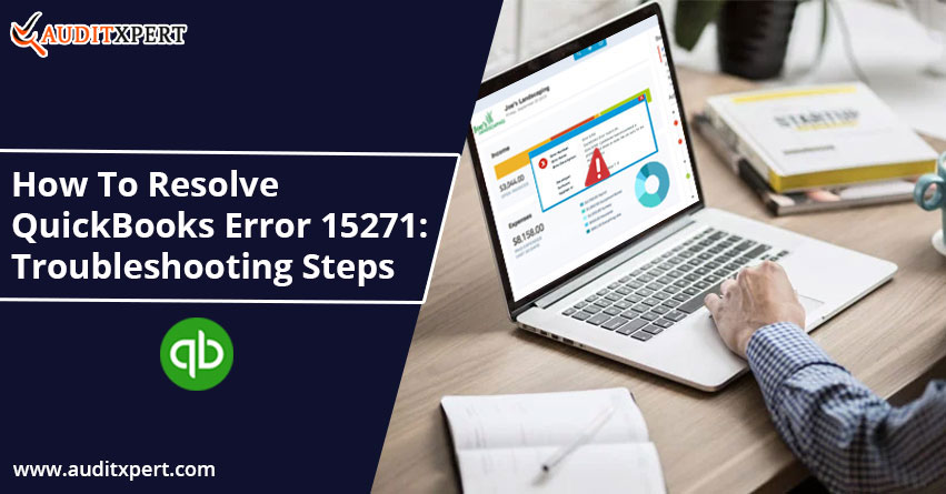 Resolve QuickBooks Error 15271: The Payroll Update Didn't Complete Successfully