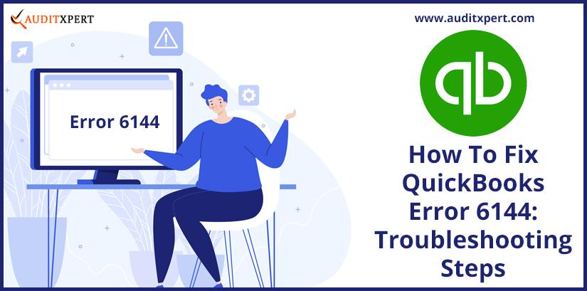 QuickBooks error 6144