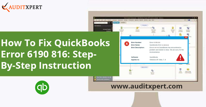 QuickBooks error 6190 816