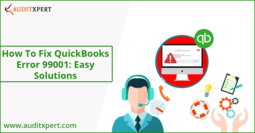 QuickBooks error 99001