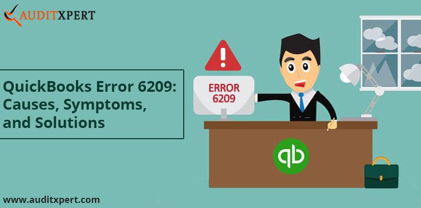 QuickBooks error 6209
