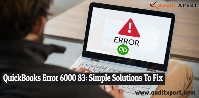 QuickBooks error 6000 83