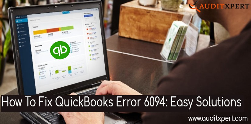 Quickbooks error 6094