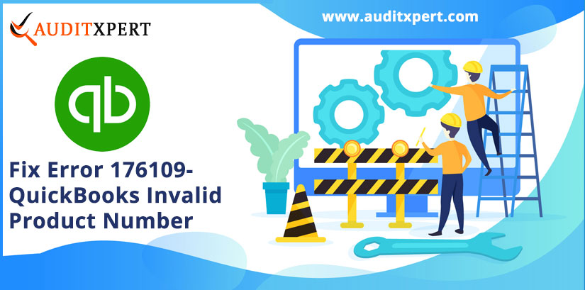 Fix Error 176109- QuickBooks Invalid Product Number