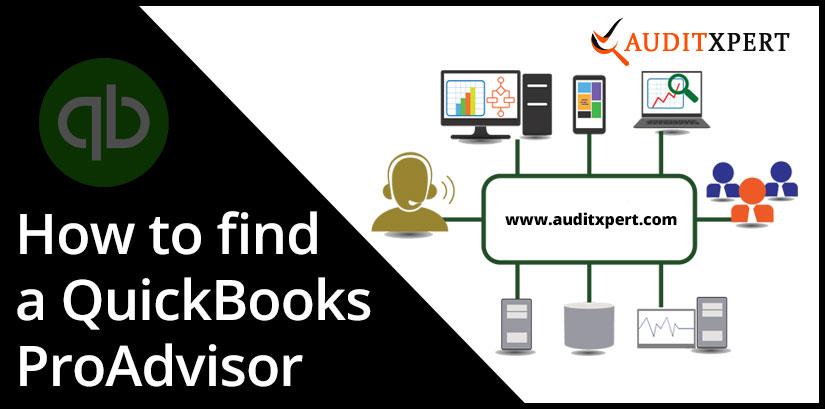 find a QuickBooks ProAdviso