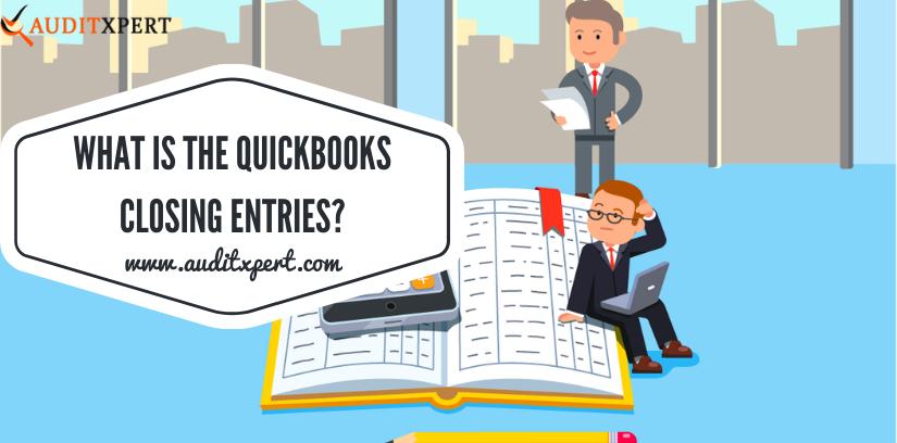 QuickBooks Closing Entries