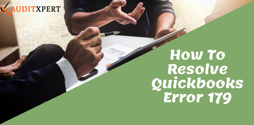 Quickbooks Error 179- Quick Way To Fix This Error