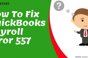 How To Fix QuickBooks Error 557
