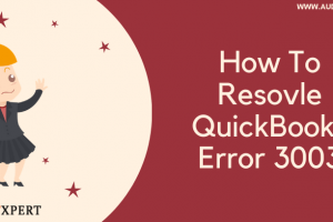 How To Resolve QuickBooks Error 3003(Synchronization error)