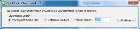 Clean Installation of QuickBooks Desktop Screenshot