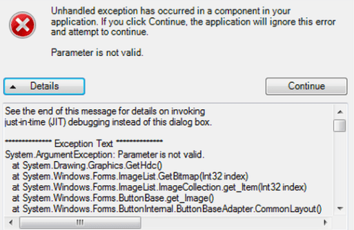 System Exception Errors n QuickBooks